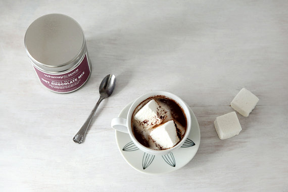 Hot Chocolate Mix Infused with Earl Grey Tea by whimsyandspice