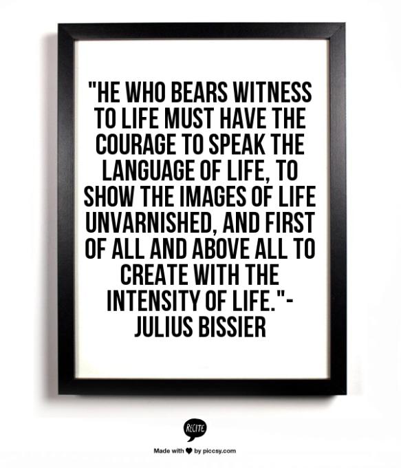 Julius Bissier Quote