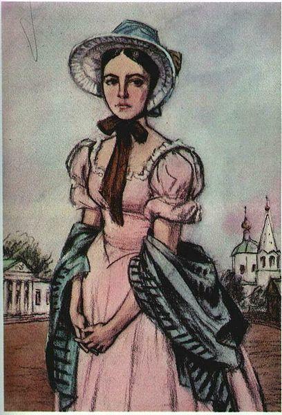 Liza Kalitina, circa 1880