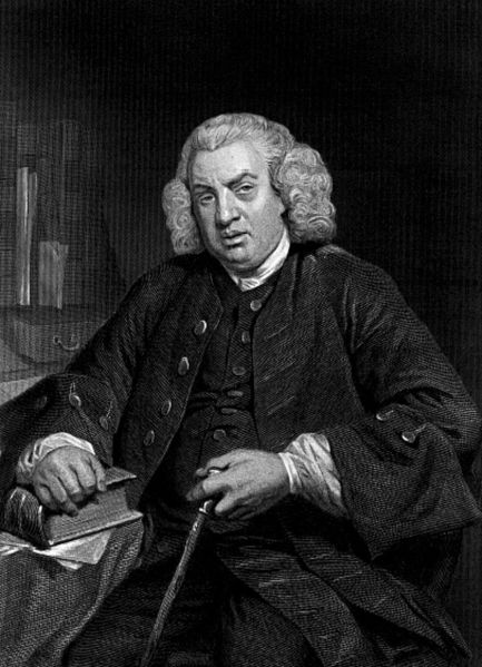 Samuel Johnson  by Evert A. Duycknick, 1873