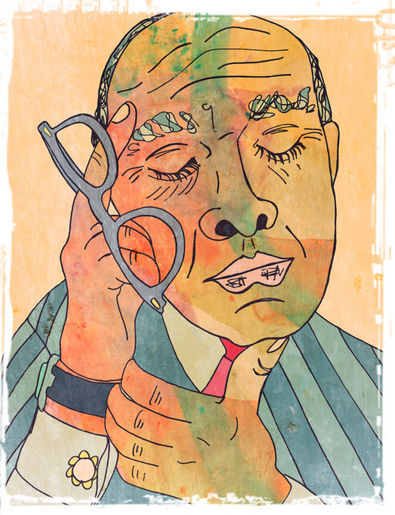Truman Capote Print by 5 or Six Talents