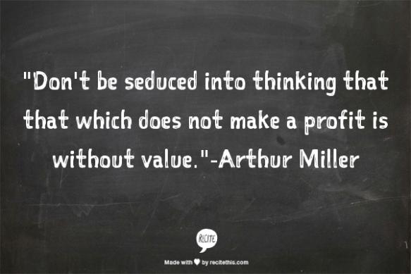 Arthur Miller Quote 1
