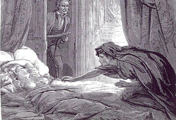 Carmilla by Joseph Sheridan Le Fanu, Illustration by David Henry Friston, 1872