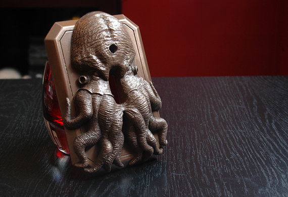 Cthulhu Switchplate Cover by Afterlight Sculpture