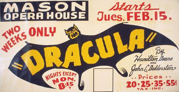 Dracula, 1938