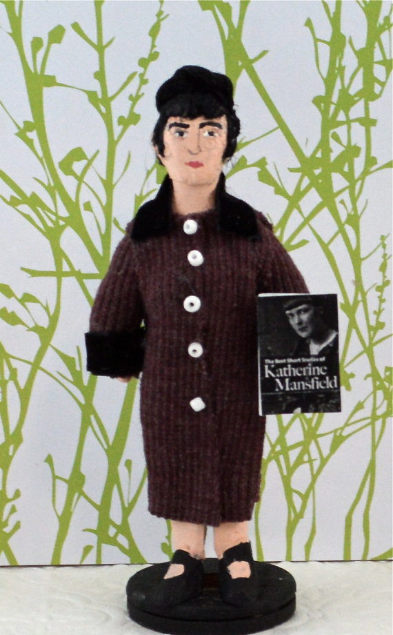 Katherine Mansfield Doll by Uneek Doll Designs