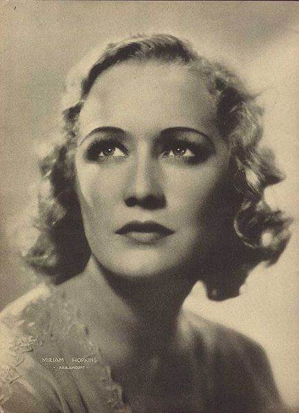 Miriam Hopkins, 1933