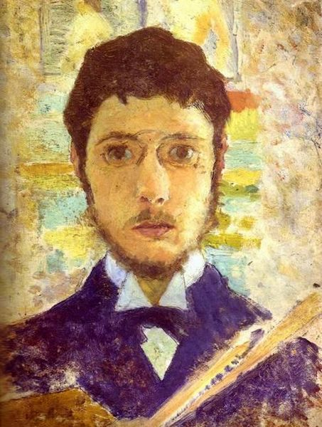 Self-Portrait by Pierre Bonnard, circa 1889