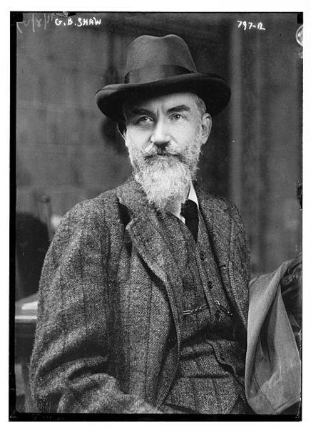 George Bernard Shaw, 1909