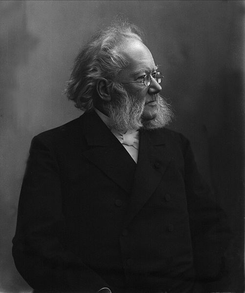 Henrik Ibsen  by Gustav Borgen, 1898 or earlier
