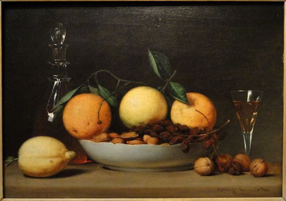 A Dessert by Raphaelle Peale, 1814
