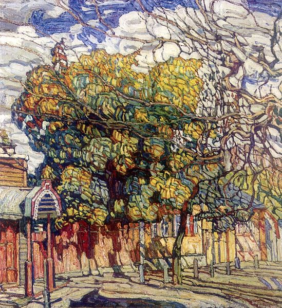Autumn by Abraham Manievich, 1914