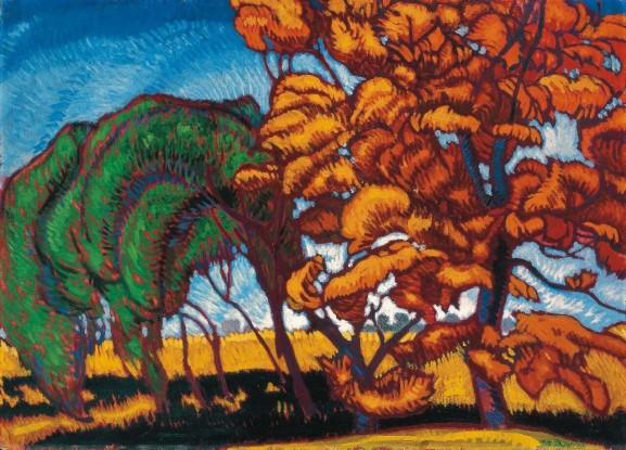 Autumn by Béla Farkas, 1913