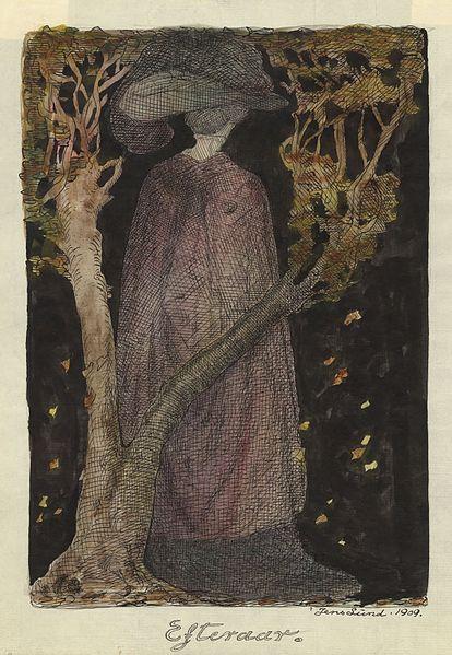 Autumn by Jens Lund, 1909