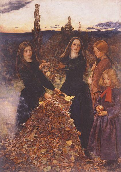 Autumn Leaves by John Everett Millais, 1856