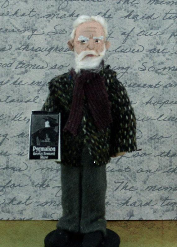 George Bernard Shaw Doll by Uneek Doll Designs