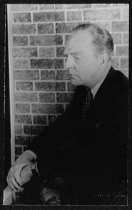 Portrait of William Inge by Carl Van Vechten, 4 September 1954