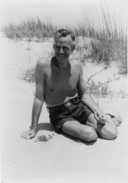 Eugene O'Neill at Sea Island Bend, 16 May 1936 by Carl Van Vechten