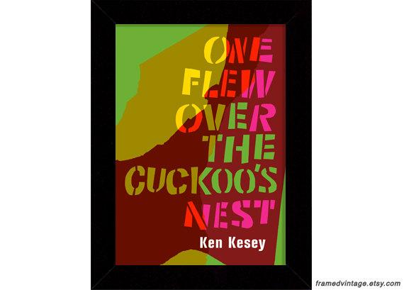 One Flew Over the Cuckoo's Nest Framed Print at Framed Vintage