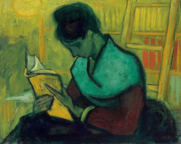 The Novel Reader by Vincent van Gogh, November 1888
