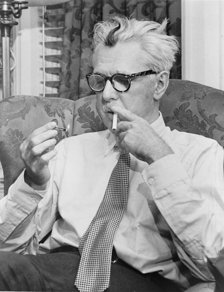 James Thurber by Fred Palumbo, 1954