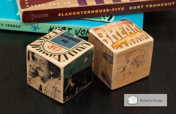 Writer's Block: Kurt Vonnegut by Literature Lodge