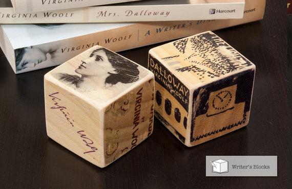 Writer's Block: Virginia Woolf by Literature Lodge