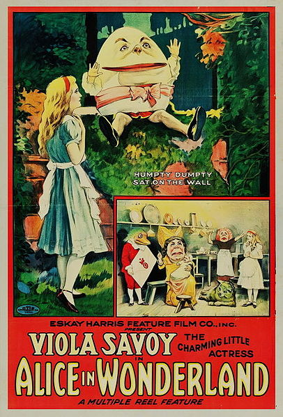 Alice in Wonderland Poster, 1915