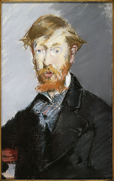 George Moore by Édouard Manet, 1879