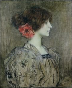 Colette by Jacques Humbert, circa 1896