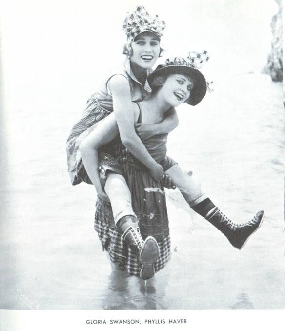 Gloria Swanson and Phyllis Haver
