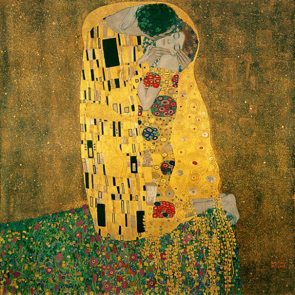 Gustav Klimt: The Kiss 1907-1908