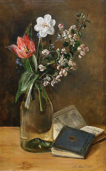 Still Life with Spring Flowers by Anna Munthe-Norstedt, 1892