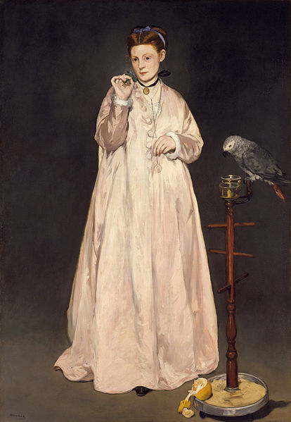Young Lady in 1866 by Édouard Manet