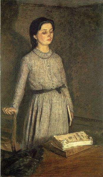 Portrait by Gwen John, 1916