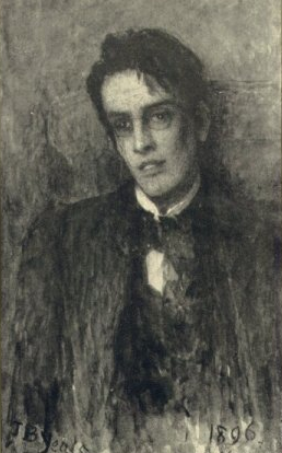 Portrait of W.B. Yeats by John Butler Yeats, 1896