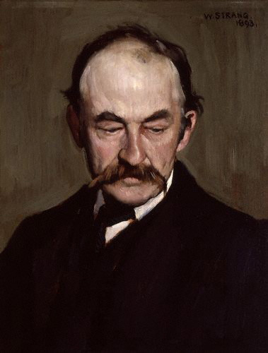 Thomas Hardy by William Strang, 1893