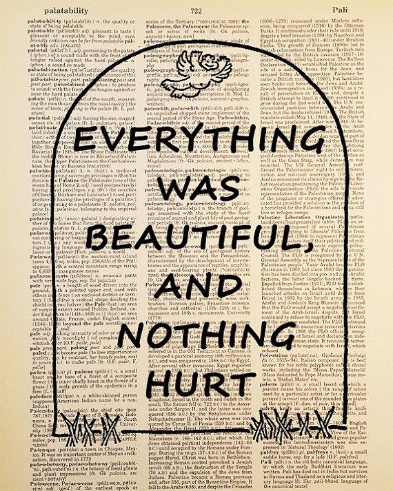 Kurt Vonnegut Quote Dictionary Art Print by Improvisatori