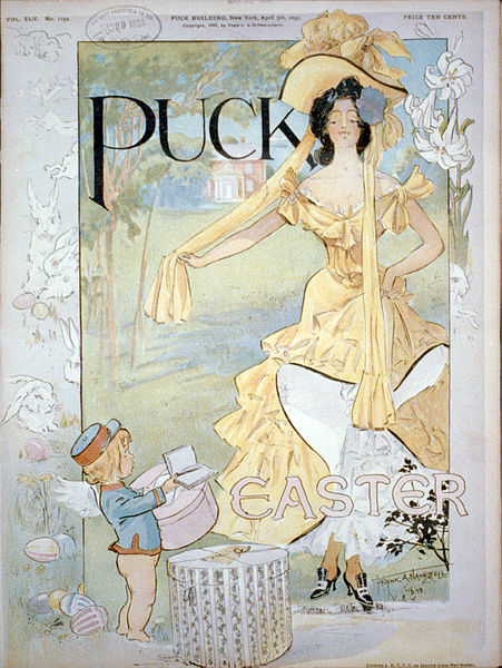 Puck: Easter issue, 5 April 1899