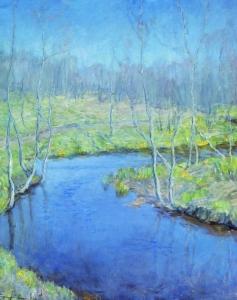 Spring by Vitold Byalynitsky-Birulya, 1899