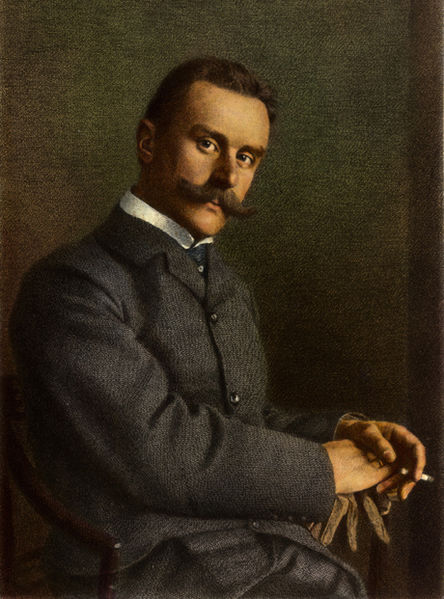 Thomas Mann by Johann Lindner, 1904