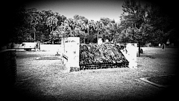 Grave: Colonial Park, Savannah.