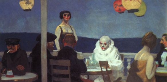 Soir Bleu by Edward Hopper, 1914. Whitney Museum of American Art.