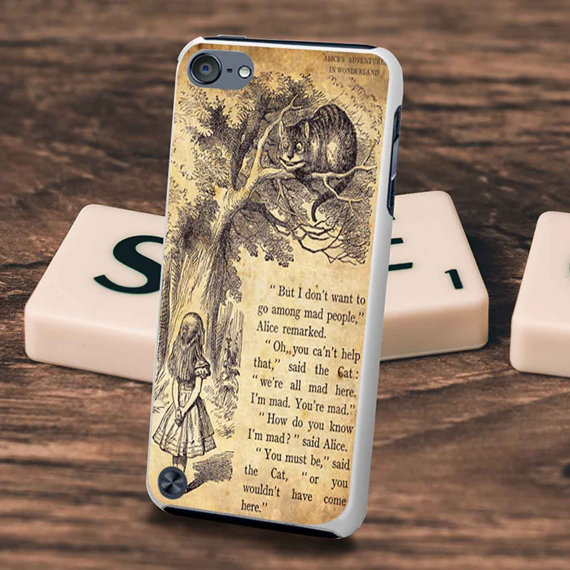 Alice in Wonderland Phone Case by Tengiry. $13.68+.
