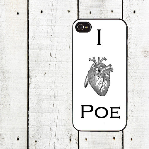 I Heart Poe Phone Case by Arete. $16.00+.