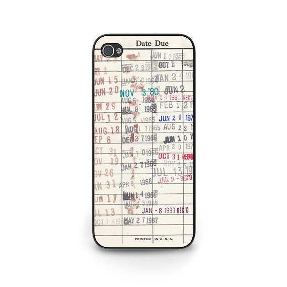 Library Card Phone Case by Caribou Creek Cases. $15.00+.