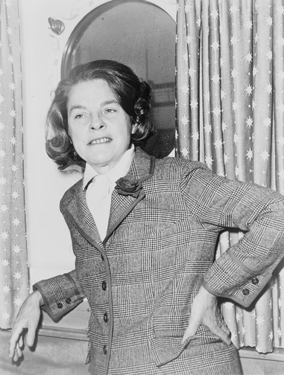 Mary McCarthy by Dick DeMarsico, World Telegram staff photographer. 1963.