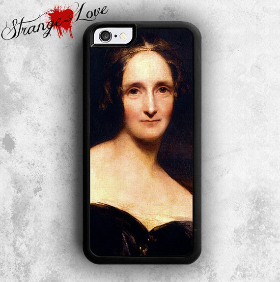 Mary Shelley Phone Case by Strange- Love Tees. $13.99+.