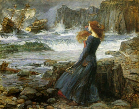 Miranda-The Tempest by John William Waterhouse, 1916