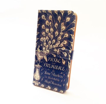 Pride and Prejudice Book Wallet Phone Case by Chick Lit Designs. $29.00.